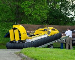 Hoverstream Triton aluminum trailer